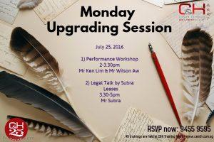 Monday Talk 25 July 2016